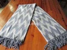50CZ96 100% acrylic waterwave throw blanket woven shawl