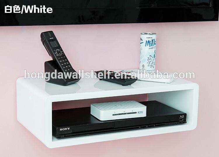 Tag re murale pour lecteur dvd tv plateau autres meubles for Tablette murale pour tv