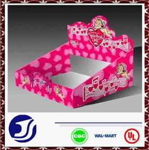 custom printed cardboard display boxes for toy packaging
