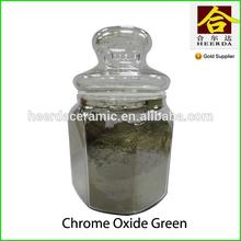 high quality ceramic pigment 99% Chrome Oxide Green Cr2O3
