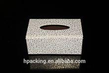 White Rectangular Household Tissue/Napkin Box for a Better Life