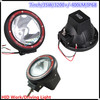 """High power 75w 55w 35w hid work light driving off road for truck 4"""" 7""""9"""""""
