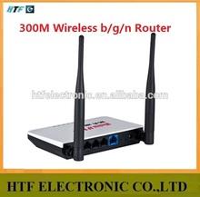 full inspection OEM 300M 4 RJ45 Lan+1 Wan port desktop plastic case MINI wireless N thomson virtual wifi Router