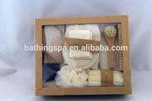 2014 hot selling selects hemp bath set