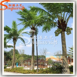 New style artificial tropical palm trees for hotel decoration
