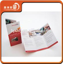 promotional Hot Sale printed samples leaflet