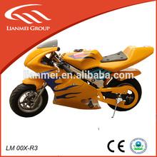 2-stroke kids minimoto 49cc mini kid pocket bike pull starter