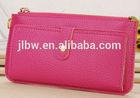 new promotional handbag 2014/ladies' PU Hand bag/fashion handbag/clutch bag/8 colors wallet handbags cardbags