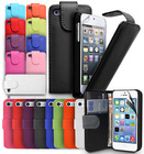 FLIP LEATHER WALLET CASE COVER FITS FOR IPHONE 4 4S 5 5S 5C FREE SCREEN PROTECTOR
