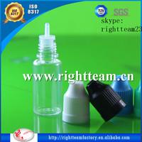 chemical empty bottle plastic,10ml PET empty plastic eliquid bottle