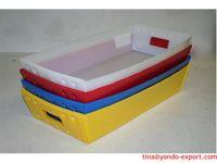 3mm 4mm 5mm as customized corflute box ,fluteboard box ,coroplast box