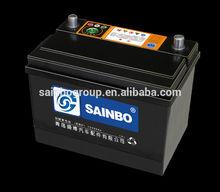 high capacity car battery dry charged n70 12v 70ah