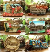 resina italia souvenir magnete frigo