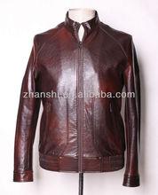 Wholesale Stocks High Quality Men Clothing Men Jacket Mens Motorbike Jacket Faux Leather Jacket