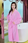 fashion 100 cotton velour pictures of women night gown bathrobe