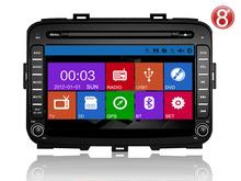 ugode car radio dvd gps navigation system fo KIA carens