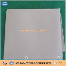 1000d/14*14,270g/sqm fire resistant PVC mesh tarp used in buliding