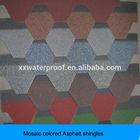the most professional supplier hexagonal mosaic asphalt shingle