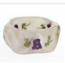 High-quality fresh and elegant fashion jewelry bracelet wide square