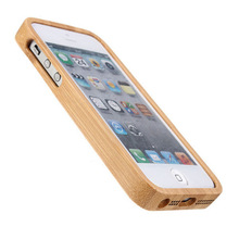 Genuine Real Natural Wooden Bamboo Hard Case Cover For Apple iPhone 5 5s