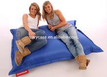 Giant Outdoor bean bag Deep Ocean Blue,Versitle function beanbags home furniture