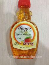 8Oz Mango Flavor Syrup for Bread , BBQ, Ice cream