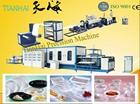 New Design Plastic foam lunch box vacuum thermoforming production machine
