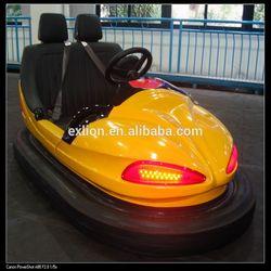 bumper car dodgem car theme park attraction