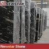 Newstar polished Black silver dragon marble slab