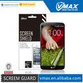 De la marca vmax protector de pantalla de los teléfonos inteligentes para lg g2 oem/odm( de alta claro)