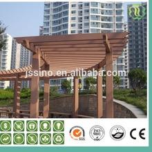 Outdoor pergola SINO-G11 wpc garden decorative pergola