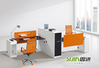 2 person Melamine staff desk,Particle Office Table,Office workstation