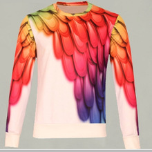 100% cotton fashion custom long sleeve t shirt men