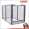 5x10x6ft DIY modular powder-coated wire mesh dog kennel