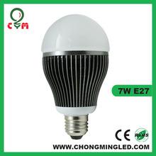 AC100-240V /110V/ A60 e27 LED bulb lamp 7W (TUV CE ROHS)