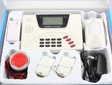 Dual Network Home Alarm panel GSM /PSTN wireless home alarms houses