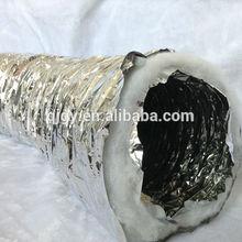 "Hydroponic Flexible Silver Fan Ventilation 4""/100MM Ducting Duct"