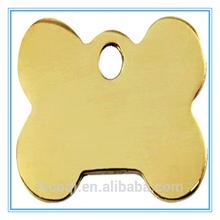 Stainless Steel Bone pet Id tag