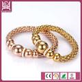 pulsera de cadena con el cristal de la joyería kington