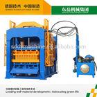 QT10-15 hollow block machine automatic / cement hydraform brick making machine price