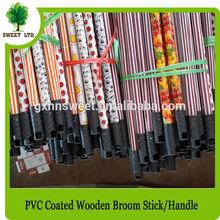 New design 2014 wooden broom stick with plastic net cap