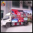Amazing! Popular Diesel Tourist Train For Amusement Park 5d Cinema,7d Cinema