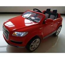 Hot sale authorized 12v electric toy cars ride on Audi Q7 car toy for kids to drive