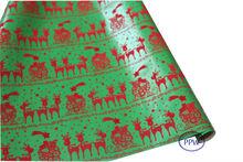 Luxury Christmas Flock Paper / Velvet Flocking Paper / Flock Printing Paper