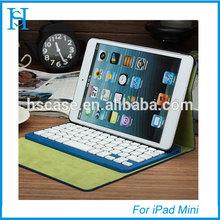 Bluetooth keyboard High quality keyboard case for ipad mini