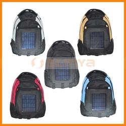 Built in 2200mah 2.4 Watt Solar External Battery Sunlight Power Backpacks
