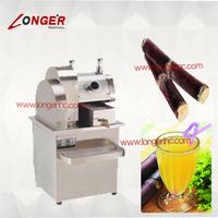 Automatic sugarcane juice squeezing machine