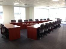 Australia Large Training Room Table V Shaped Conference Table (FOHVC-001)