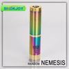 2014 original mechanical electronic cigarette rainbow copper e cigarette nemesis mod kit