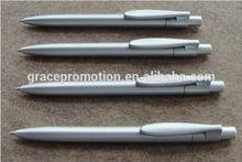 Plastic ballpoint pen refill